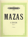 Mazas, F.: Easy Duets Op. 46 (2 violins)