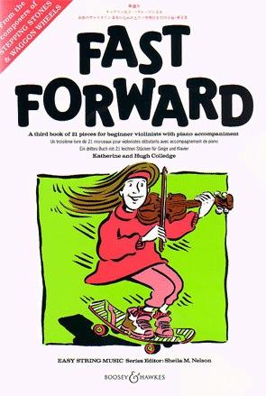 HAL LEONARD Colledge, K.: Fast Forward (violin & piano)