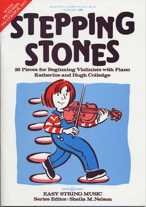 HAL LEONARD Colledge: Stepping Stones (violin & piano)