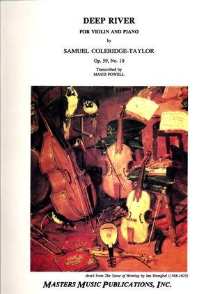 LudwigMasters Coleridge-Taylor, Samuel: Deep River Op.59#10 (violin & piano)