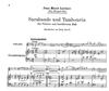 LudwigMasters Leclair, Jean-Marie: Sarabande & Tambourin (violin & piano)
