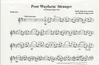 Ledgerwood, D.R.: Poor Wayfarin' Stranger (violin & piano)