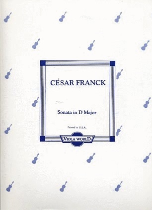 Franck, Cesar: Sonata in D Major (viola & piano)