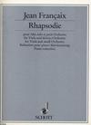 Francaix, Jean: Rhapsodie 1946 (viola & piano)
