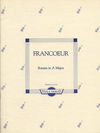Francoeur (Arnold): Sonata in A Major (viola & piano)