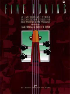 Spinosa, F. & Rusch, H.: Fine Tuning (viola)
