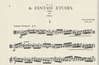 International Music Company Fuchs, L.: 16 Fantasy Etudes (viola) IMC
