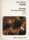 Gade, Niels Wilhelm: Sonate in d Op.21 (viola & piano)