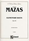 Alfred Music Mazas, F: Elementary Duets, Op.86 (2 violins)