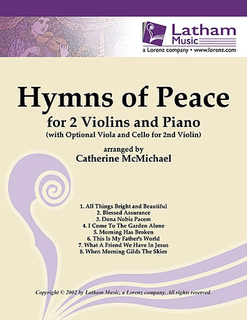 McMichael, Catherine: Hymns of Peace (2 violin & optional piano)