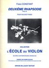 Carl Fischer Constant, Franz: Deuxieme Rhapsodie Op. 145 (violin & piano)