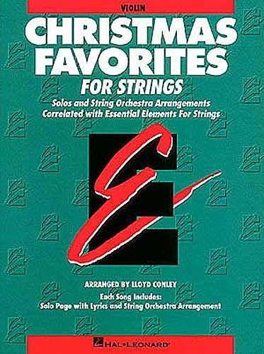HAL LEONARD Conley, L.: Christmas Favorites for Strings (violin)