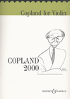 HAL LEONARD Coplan, A.: Copland 2000 (violin part- piano acc. sold seperately)