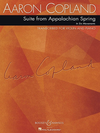 HAL LEONARD Copland, Aaron: Suite from Appalachian Spring in  6 movements (violin & piano)