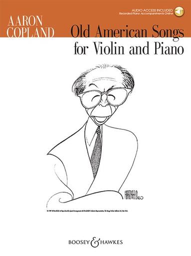 HAL LEONARD Copland, A.: Old American Songs (violin & piano)