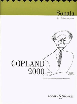 HAL LEONARD Copland, A.: Sonata (Violin & Piano)