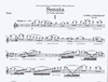 Carl Fischer Lieberman, Lowell: Sonata (violin & piano)
