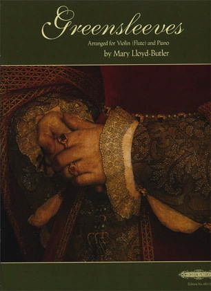 Lloyd-Butler (arr): Greensleeves (violin & piano)