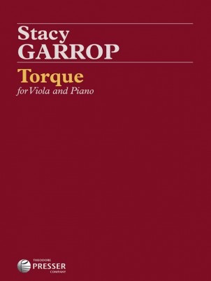Carl Fischer Garrop: Torque (viola, piano) PRESSER