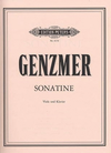 Genzmer, Harald: Sonatine for Viola and piano