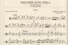 International Music Company Giardini, Felice di: Solo per Alto Viola ''The Billiard Sonata''(viola & piano)