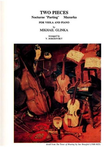 LudwigMasters Glinka, Mikael: Sonata in D minor (viola & piano)(violin & piano)