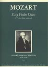 Mozart, W.A.: Easy Violin Duets-1st position (2 violins)