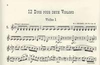 Mozart, W.A.: 12 Duos Op.70 Bk.2 No.5-8 (2 violins)