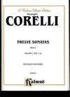 Alfred Music Corelli, Arcangelo: 12 Sonatas Op.5 VOL.1 #1-6 (violin & piano)