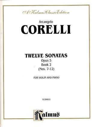 Alfred Music Corelli, Arcangelo: 12 Sonatas Op.5 Vol.2 (violin & piano)