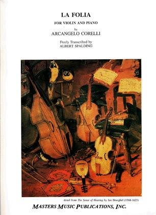 LudwigMasters Corelli (Spalding): La Folia (violin & piano) LudwigMasters