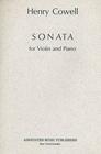 HAL LEONARD Cowell, Henry: Sonata (violin & piano)