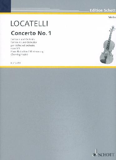 Locatelli, P.A.: Concerto Op.3 #1 in D major (violin & piano)