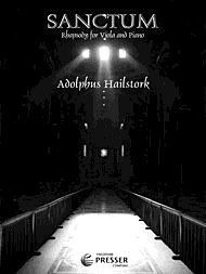 Carl Fischer Hailstork, Adolphus: Sanctum-Rhapsody for Viola & Piano