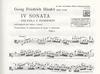 HAL LEONARD Handel, G.F. (D'Ambrosio): Sonata No. 4 (viola & piano)