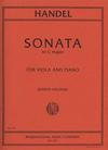 International Music Company Handel, G.F. (Jensen-Vieland): Sonata in C Major (Viola & Piano)