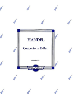 Viola World Handel, G.F. (Arnold): Concerto in Bb for Viola & Piano