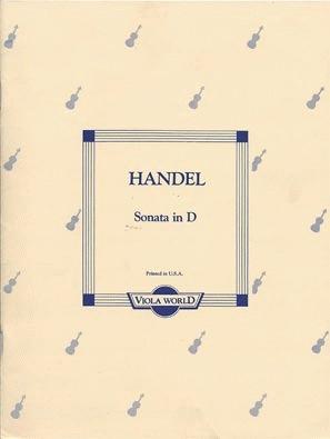 Handel, G.F. (Arnold): Sonata in D (viola & piano)