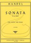 International Music Company Handel (Katims): Sonata in G minor - TRANSCRIBED (viola & piano) International