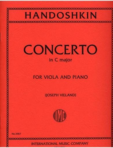 International Music Company Handoshkin, Ivan: Viola Concerto (Vieland)