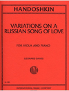 International Music Company Handoshkin, Ivan: Variations on a Russian Song of Love (L. Davis)