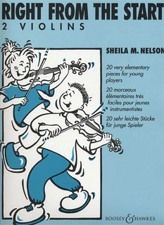 HAL LEONARD Nelson, S.: Right From the Start (2 violins)