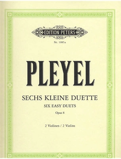 Pleyel, I.: Six Little Duos for Two Violins Op. 8