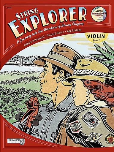 Alfred Music Dabczynski: String Explorer Book 2 (Violin)