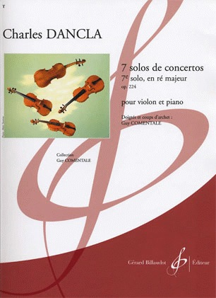 Carl Fischer Dancla, Charles: Seventh Solo in D major (violin & piano)