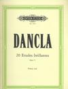 Dancla, C.: 20 Etudes Brillantes et Caracteristiques, Op.73 (violin)