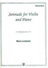Alfred Music Lombardo, Mario: Serenade for Violin & Piano
