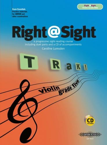 C.F. Peters Lumsden: ABRSM Right @ Sight Violin Grade 5