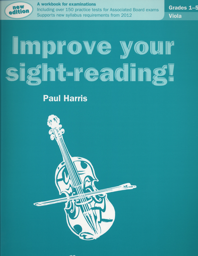 Alfred Music Harris, Paul: Improve Your Sight-Reading, Grades 1-5 (viola)