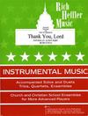Heffler, R.: Thank You, Lord (viola & piano)